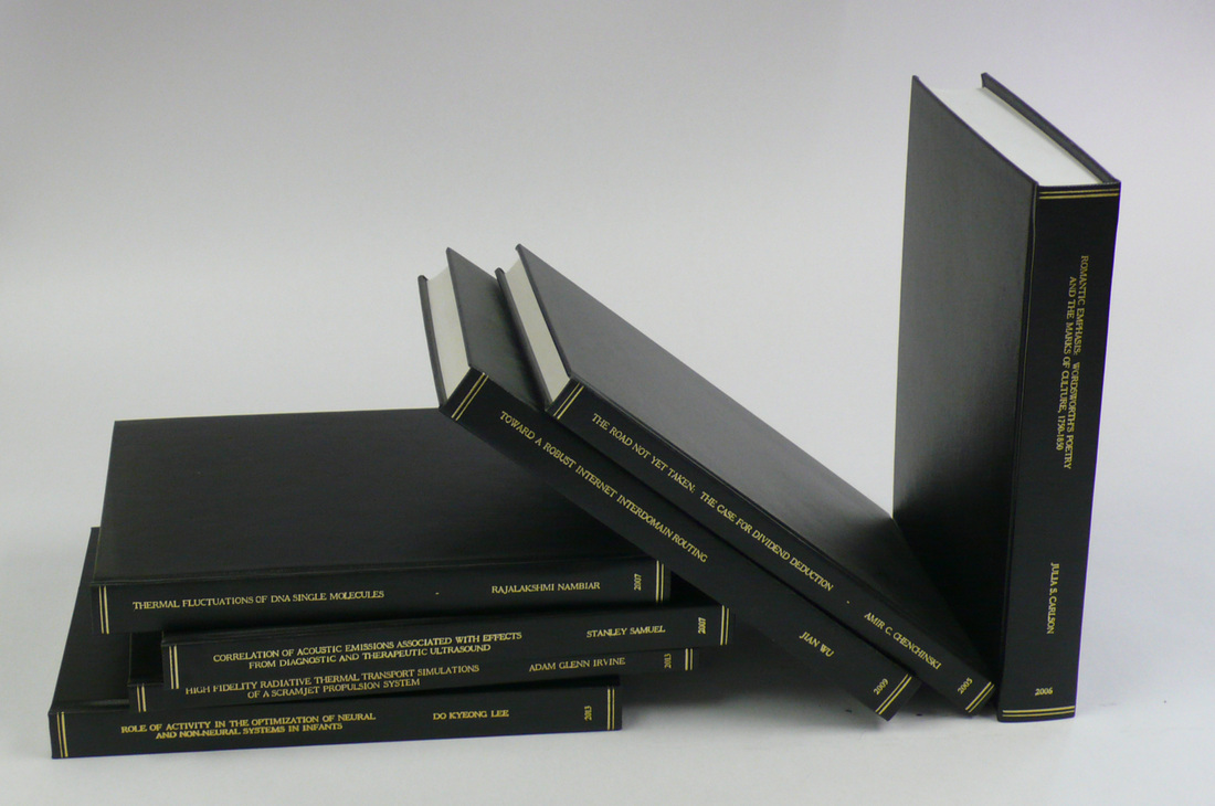 leather thesis binding london